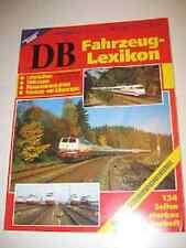 Altes  Buch Eisenbahn Kurier DB Fahrzeug Lexikon 1993