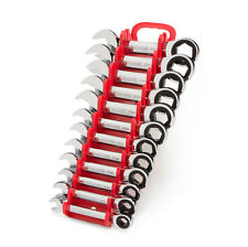 Stubby Ratcheting Combination Wrench Set with Store and Go Keeper Metric 12-Pc.