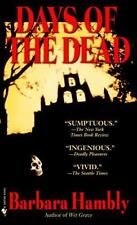 Days of the Dead by Barbara Hambly (Benjamin January #7) (2004 Paperback) FF3136