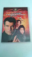 """DVD """"007 EL MAÑANA NUNCA MUERE"""" COMO NUEVA PIERCE BROSNAN MICHELLE YEOH"""