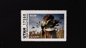DR JIM STAMPS US STATE DUCK $3.30 UTAH WATERFOWL UT-9 MINT NH 1994