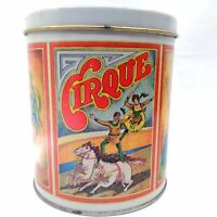 Ballonoff Cirque Circus Collectible Tin Storage Container