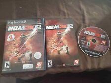NBA 2K12 (Sony PlayStation 2, 2011) Complete CIB PS2