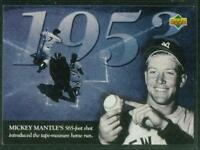 1994 Upper Deck Baseball Card, No. 116, Mickey Mantle of the New York Yankees
