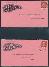 THE ST. CROIX SOAP MFG Co. ADVERTISING COVER (2) BR8905