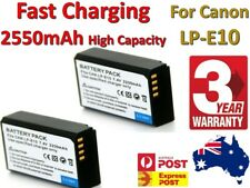 High Capacity 2550mAh LP-E10 Battery For Canon EOS 1500D 1300D 1100D Kiss X50