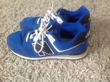 NEW BALANCE 574 LADIES BLUE SUEDE TRAINERS  SIZE UK 5 EU 38