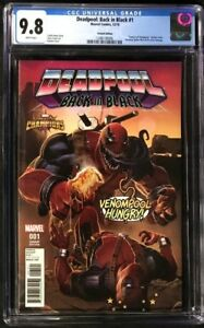 Deadpool Back in Black #1 CGC 9.8 KABAM 1:10 Incentive Variant Cover!