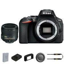 Nikon D5600 DSLR Camera +  50mm AF-S Nikkor f/1.8G Lens
