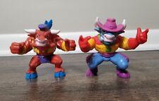 Cowboys of Moo Mesa Action Figure Lot - 2 Figures1991 Hasbro