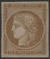 "FRANCE STAMP TIMBRE N° 1 a "" CERES 10c BISTRE- BRUN 1850 "" NEUF xx A VOIR  K034"