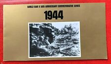 US Stamps SC#2838 a-j 29c World War II 50th Anni. Block of 10 Original Folder