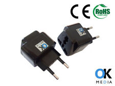 INDIA US UK to EU Travel Adapter TYPE G to TYPE C Power Plug Converter