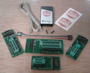 ICSP Adapter ZIF Kit w/ Authentic PICkit 4 USB Programmer