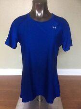 Under Armour Heat Gear T-Shirt Royal Blue Size XL