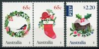 Australia Christmas Stamps 2020 MNH Stockings Decorations Pudding Birds 3v Set