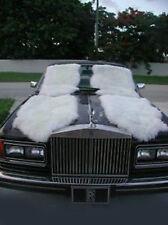 Brand New off White ELEGANT CARS ORIGINAL Genuine Sheepskin Floor Mats lot of 4