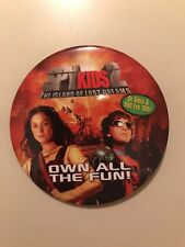 "Spy Kids 2 The Island of Lost Dreams 3"" Promotional Pin Button Pinback"