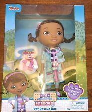 Disney Doc McStuffins Pet Rescue Doc Doll Toy Free Shipping