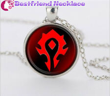 WoW World of Warcraft Hearthstone silver necklace for women men Jewelry#T29
