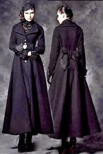 PYON PYON RESOLUTION COAT heavy winter gothic princess lace wooly fit n flare XS
