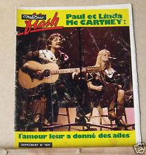 ▬►Flash Nous Deux 1561 /1977 Paul & Linda Mc Cartney_Jane Birkin_Charlie Chaplin