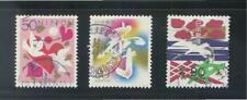 Japan 1999 Celebration & Condolence Comp. Set Of 3 Stamps Sc#2704-06 Fine Used