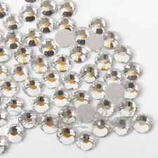 100pcs Glass Rhinestones Flat Back Crystals 2mm, 3mm, 4mm ,5mm