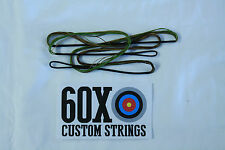 "60X Custom Strings 36"" 14 Strand Camo Dacron B50 Teardrop Bowstrings Bow String"