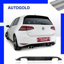 VW GOLF VII GTI Performance Scarico Sportivo Terminale + PARAURTI CARB. REMUS