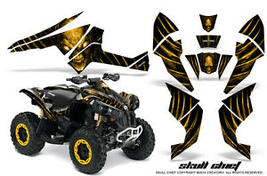 Can-Am Renegade Graphics Kit by CreatorX Decals Stickers SCYB