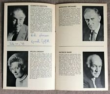 More details for kenneth griffith signed her majesty's theatre programme - 'cause celebre' 1977