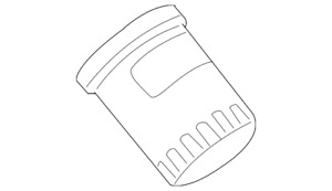 Genuine GM Oil Filter 19210284