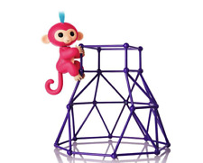 Fingerlings Jungle Gym Playset w/ Exclusive Aimee (pink w/ blue hair), Authentic