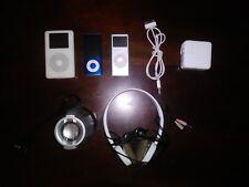 Apple iPod Photo, Nanos, Bluetooth Speaker, Headset Lot