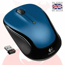 Logitech Wireless Mouse M325 Nano cordless optical mini Mice FREE del. BLUE