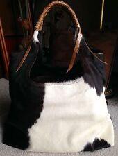 Beirn Hair On Cowhide Bag.