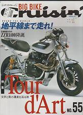 Big Bike Cruisin #55 Japanese Motorcycle Magazine Kawasaki Tour d'Art