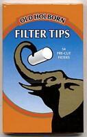 OLD HOLBORN FILTER TIPS EXTRA SLIM POCKET 5,7 MM