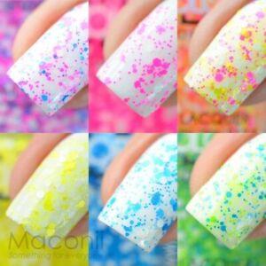 Color Club - Poptastic Remix Collection Nail Polish 15ml / 0.5oz (Neon Glitter)