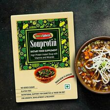 Instant Manchow Protein Soup Mix with Protein Vitamins Minerals 6 Servings @UK