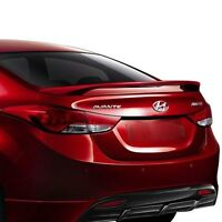 UN-PAINTED FOR 2011-2016 HYUNDAI ELANTRA SEDAN 4DR Lighted Rear Spoiler Wing
