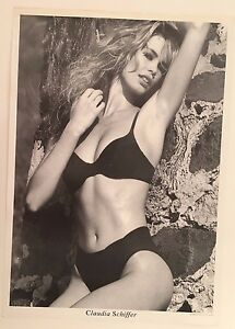CLAUDIA SCHIFFER,  RARE 1990's  POSTER