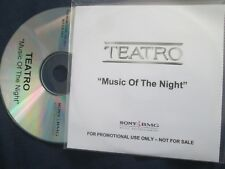 Teatro Music Of The Night (The Phantom Of The Opera) SONY / BMG Promo CD Single