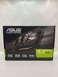 ASUS GeForce GT 1030 2GB GDDR5 Graphics Card (PHGT1030O2G)