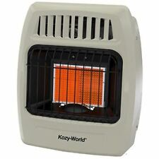 DuraHeat Kozy World 12,000 BTU Infrared Liquid Propane Gas Wall Heater