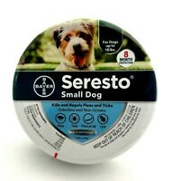 Bayer Seresto Flea & Tick Collar For Small Dogs Protection Treatment Up To 18lbs