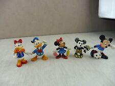 Lot d'anciennes figurines pvc Mickey, Minnie, Donald, Daisy, Bullyland, Disney
