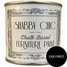Liquorice Black Chalk Based Furniture Paint Great For Creating A Shabby Chic