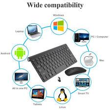 Ultra Slim Wireless Keyboard & 2.4GHz Optical Mouse Set Combo For Laptop Desktop